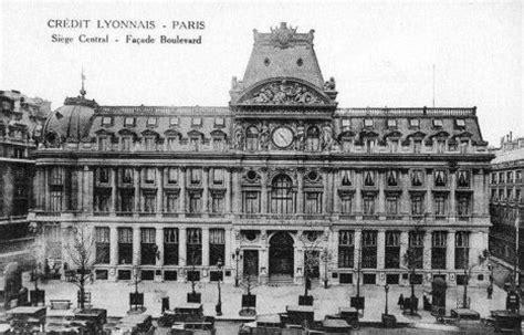 siege social credit lyonnais le boulevard des italiens en 1900