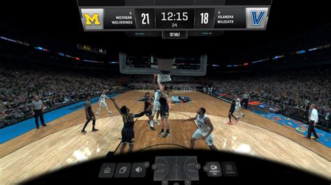ncaa march madness  vr stretches  oculus