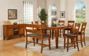 counter height dining room sets buy mango counter height dining room set by steve silver from www mmfurniture com