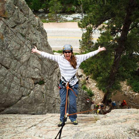 Half Day Fun Rock Climbing For All Ages Estes Park