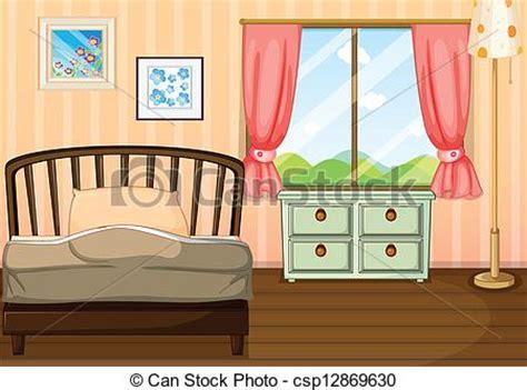 vide chambre vecteurs de vide chambre à coucher illustration de