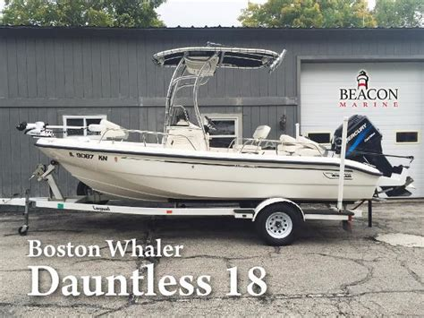Boston Whaler Dauntless Boats For Sale by Boston Whaler 18 Dauntless Boats For Sale Boats