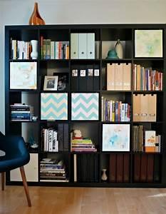 Etagere Salon Design : tag re ikea kallax diff rents id es comment l 39 utiliser ~ Teatrodelosmanantiales.com Idées de Décoration