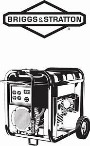 Briggs  U0026 Stratton Portable Generator 030208