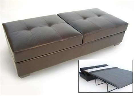 sleeper sofa with ottoman ottoman sleeper apartment therapy