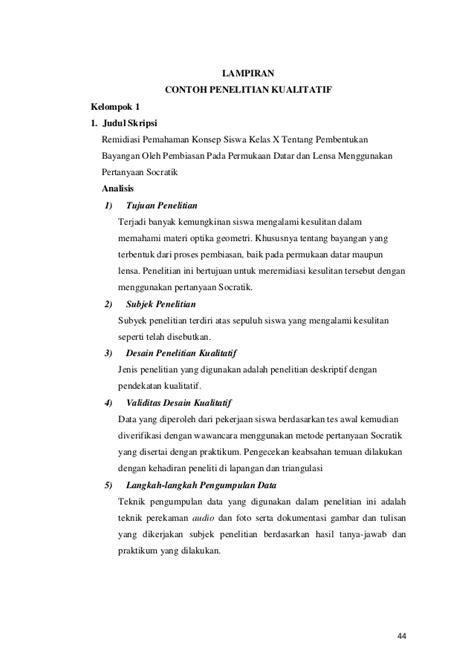 Contoh Judul Penelitian Kualitatif 3 Variabel - How To AA