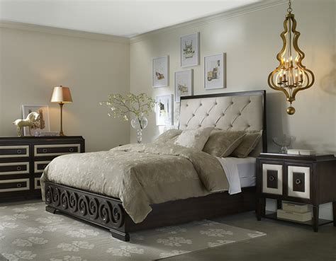 Stunning Master Size Tall Headboard Tufted Bed With Black