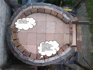 cuisine la construction du four actape par actape un four With construire four a pizza exterieur