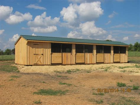 10 portable horse barns shedrow barns deer creek