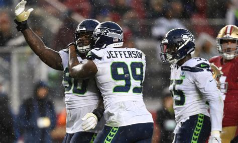 entering contract years seahawks  draft class