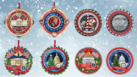 complete white house ornament coins collection