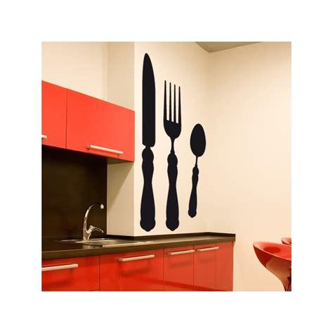 couverts de cuisine stickers de cuisine couverts décoration cuisine