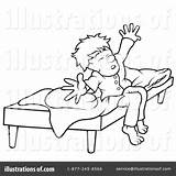 Wake Coloring Clipart Template Rf sketch template