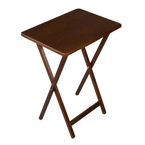 tv dinner tray table folding wooden tv tray table