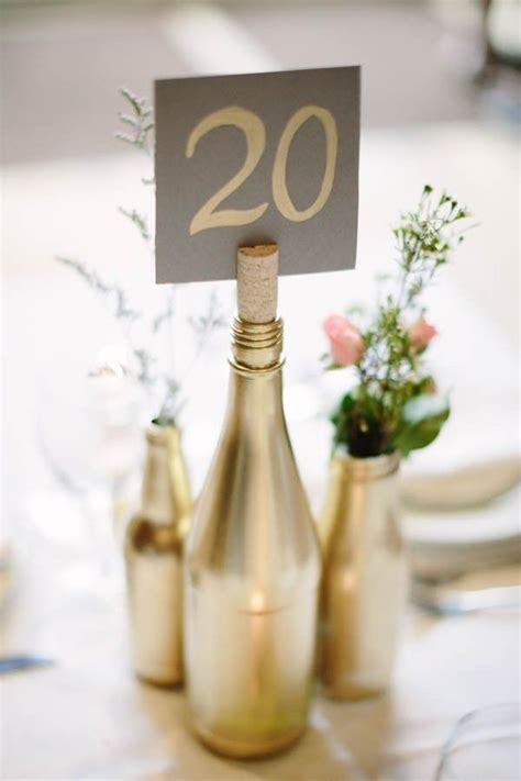Decorative Wine Bottles For Wedding by 25 Best Ideas About Wine Bottle Centerpieces On