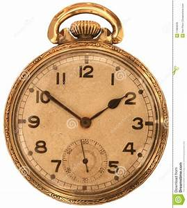 Reloj de bolsillo antiguo imagen de archivo Imagen de minutos 11884045