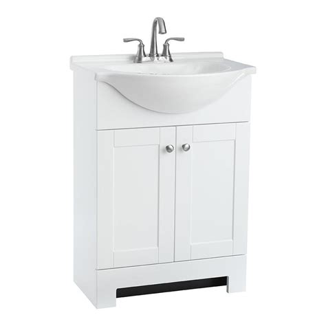 custom vanity top with integrated sink shop style selections euro white integral single sink
