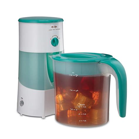 A complete guide on mr coffee iced tea maker? Mr. Coffee 3-Quart Adjustable Brew Strength Iced Tea Maker