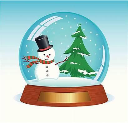 Snowglobe Clipart Illustrations Christmas Clip Illustration Vector