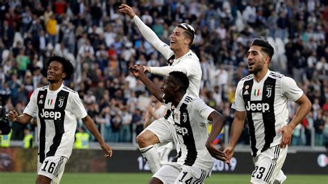 Serie A: Cristiano Ronaldo Plays Key Role as Juventus Win ...