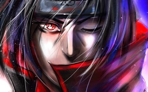 akatsuki naruto itachi uchiha  color background hd