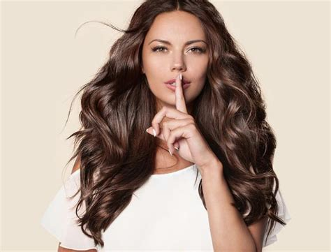 Clip-in Hair Extensions Chocolate Brown (color 4 ,120