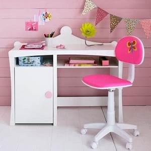 Bureau Chambre Fille : bureau pour chambre de fille visuel 4 ~ Teatrodelosmanantiales.com Idées de Décoration