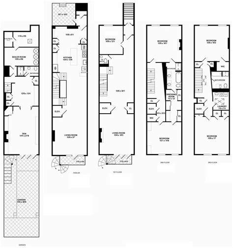 Nyc Brownstone Floor Plans