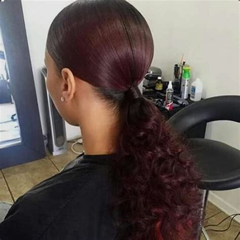 Sew In Ponytail Hairstyles by 50 Ways To Wear Sew In Hairstyles That Will Inspire You