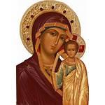 Deviantart Mary Icons Byzantine Panagia Conception