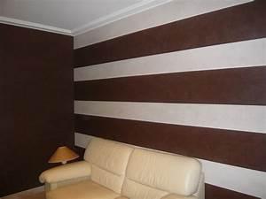 Photo Peinture Salon : decoration salon peinture stucco ~ Melissatoandfro.com Idées de Décoration