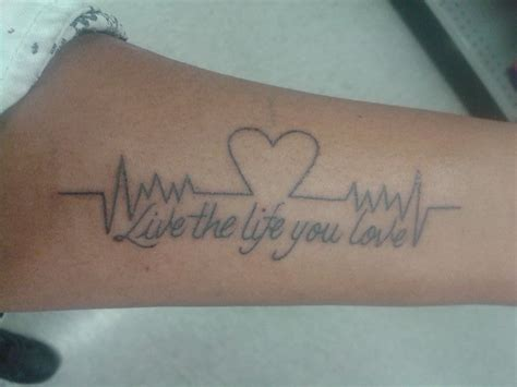 Live Life To The Fullest Tattoo  Wwwimgkidcom The