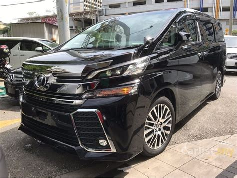 Toyota Vellfire Picture by Toyota Vellfire 2016 Z G Edition 2 5 In Selangor Automatic