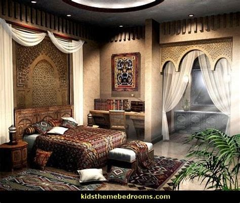 Bedroom Decorating Ideas Moroccan Theme by Decorating Theme Bedrooms Maries Manor Arabian