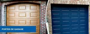 Porte De Garage Sectionnelle Sur Mesure : porte de garage sur mesure aluminium calais ad menuiserie ~ Dailycaller-alerts.com Idées de Décoration