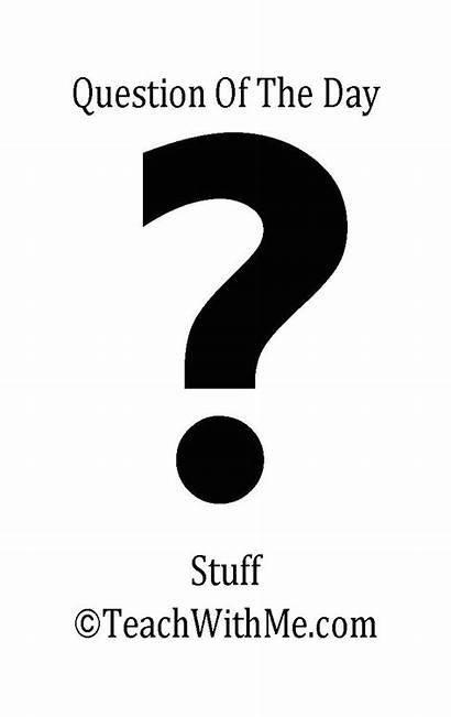 Question Questions Preschool Classroom Stuff Yes Freebies