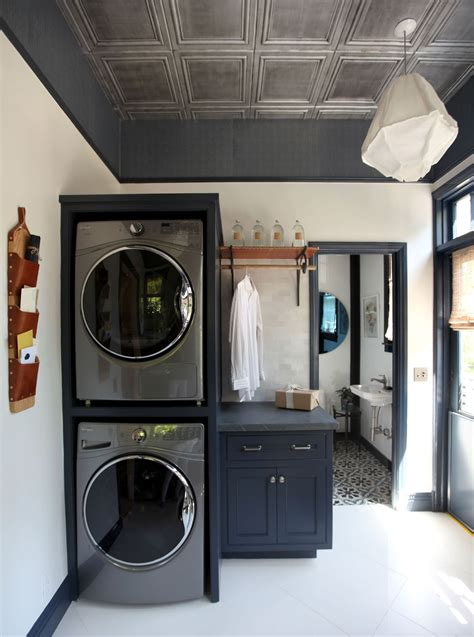 dreary laundry room    place