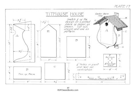 barn shed plans   birdhouse plans