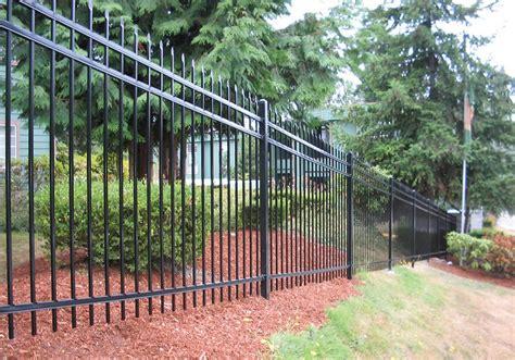 metal fencing costs metal fence