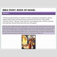Bible Study The Book Of Daniel Chapter 3wmv Youtube