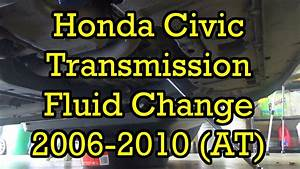 Honda Civic 2002 Manual Transmission Fluid