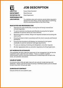 7 Examples Of Job Descriptions Pennart Appreciation Society