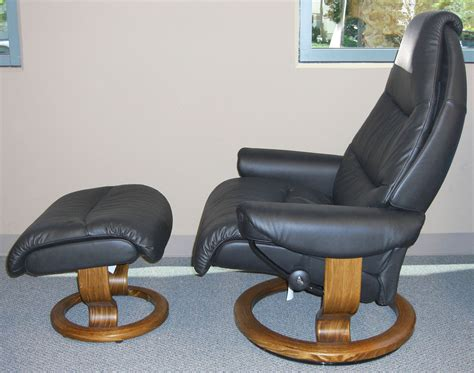 stressless voyager black leather by ekornes