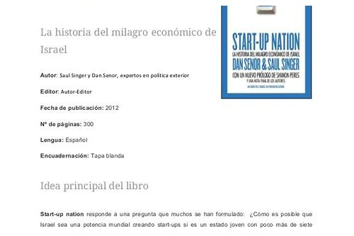 start up nation baixar gratis libro