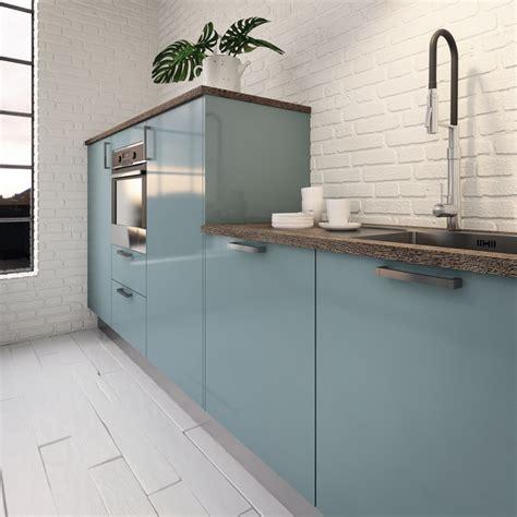cuisine bleu clair cuisine couleur pastel bleu clair ou vert clair
