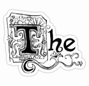 """Spongebob - ""The"""" Stickers by alisa-mmxii Redbubble"