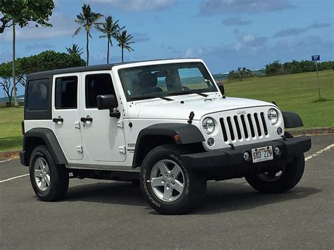 jeep sport 2016 jeep wrangler unlimited sport silver profile photos