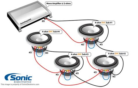wiring diagram for dvc subwoofer powerking co