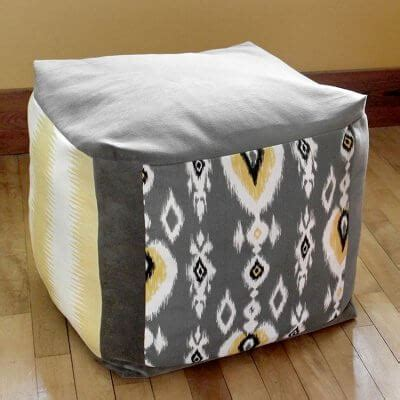How To Make A Square Pouf Ottoman by How To Make A Pouf Ottoman Ofs Maker S Mill