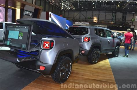 jeep renegade hard steel concept  geneva
